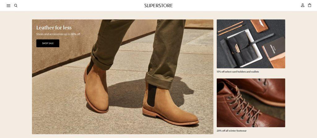 Superstore - Fashion Shopify Theme