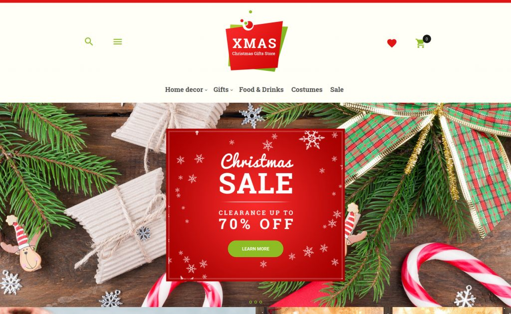 Xmas - Christmas Gifts Store Responsive Magento Theme