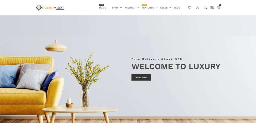 Furnimart - Furniture Shopify Theme