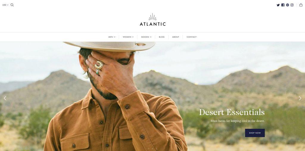 Atlantic Premium Shopify Theme
