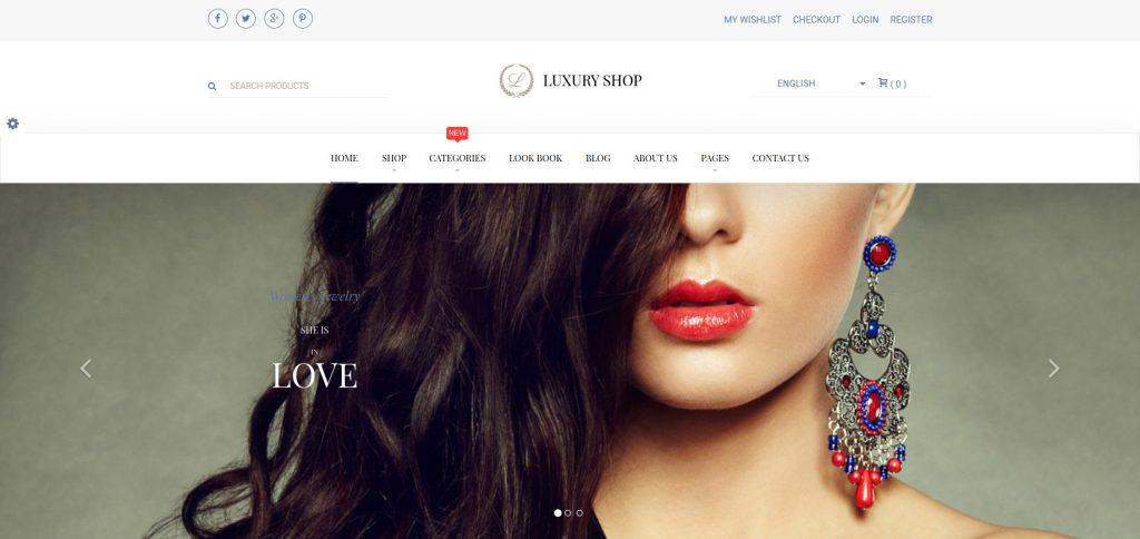 Luxury Shop - Magento Responsive Theme
