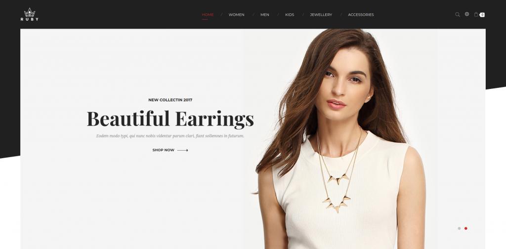 Ruby - Jewelry Store Responsive Magento Theme