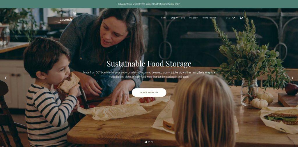Launch Shopify Theme