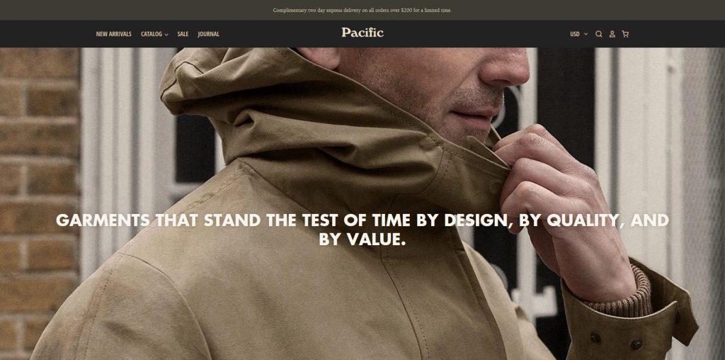 Pacific Premium Shopify Theme