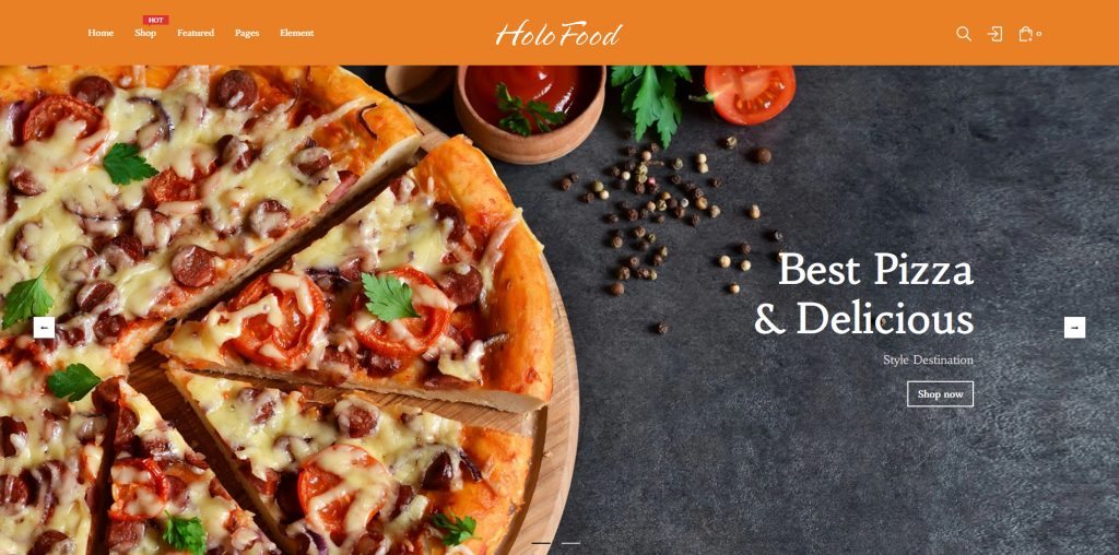 HoloFood - Fast Food & Restaurant Shopify Theme