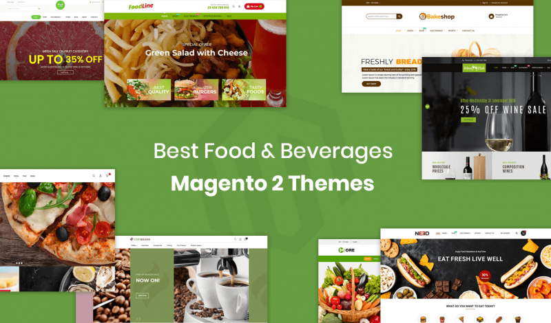 Food & Beverages Magento 2 Themes