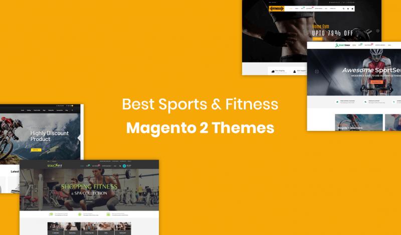 Sports & Fitness Magento 2 Themes