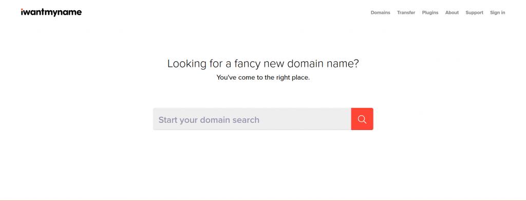 I Want My Name - Domain Name Generator
