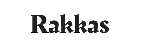 Rakkas Google Font
