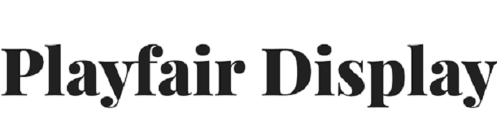 Playfair Display Google Font