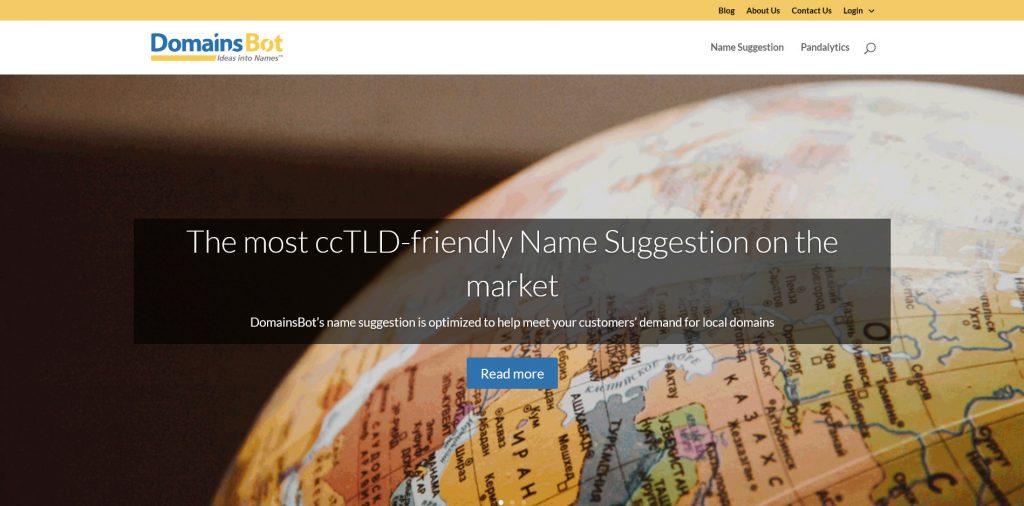 DomainsBot - Domain Name Generator