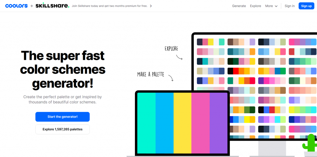 Coolors - Color Picker Tool