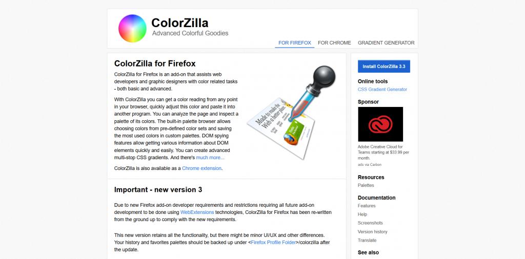 ColorZilla - Color Picker Tool
