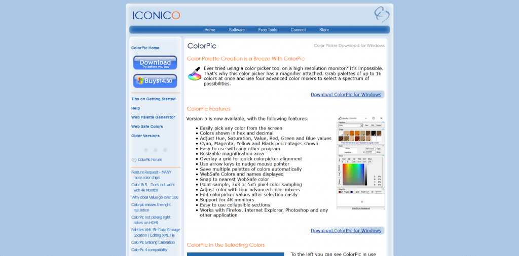 ColorPic - Color Picker Tool