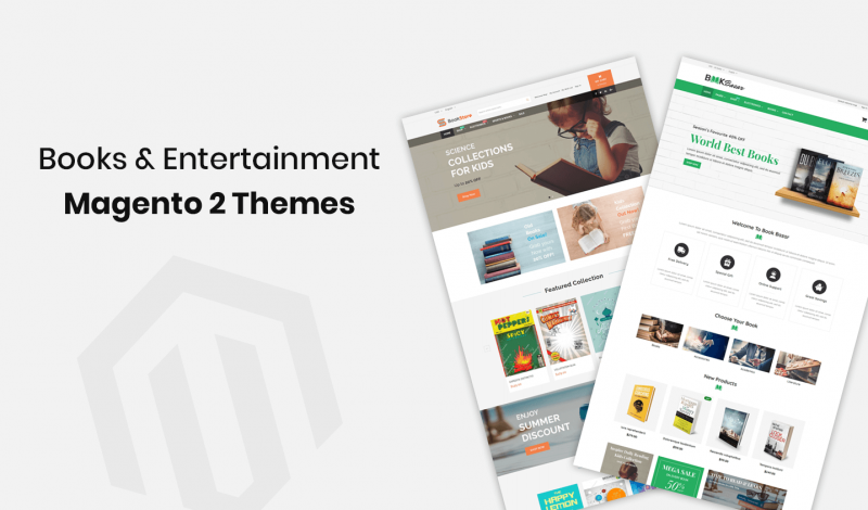 Books & Entertainment Magento 2 Themes