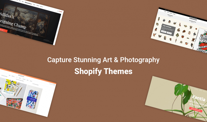 Art & PhotographyShopify Themes