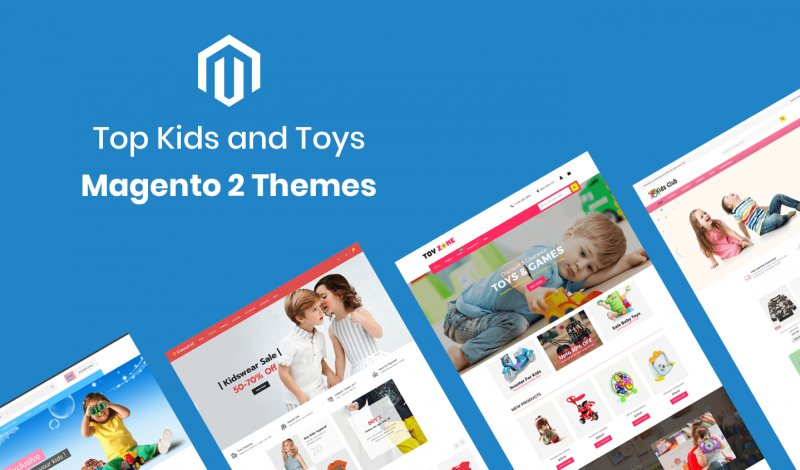 Kids and Toys Magento 2 Themes