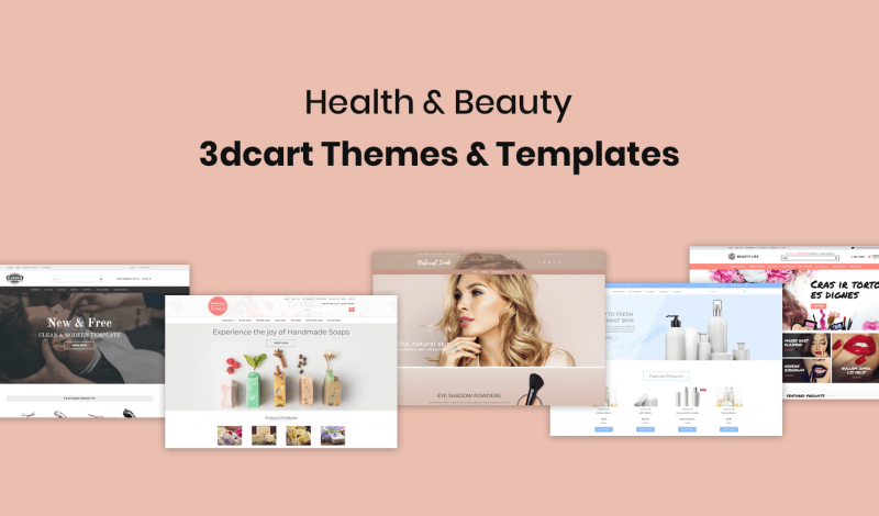 Health & Beauty 3dcart Themes
