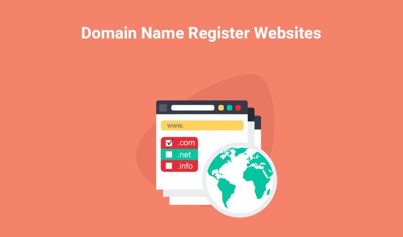 Domain Name Register Websites