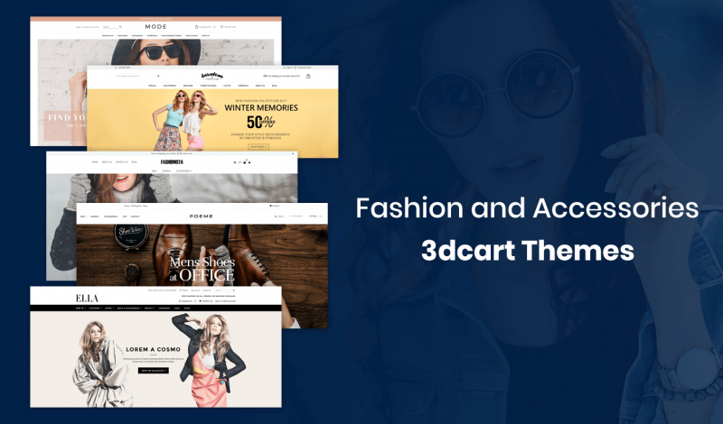 Fashion and Accessories 3dcart Themes