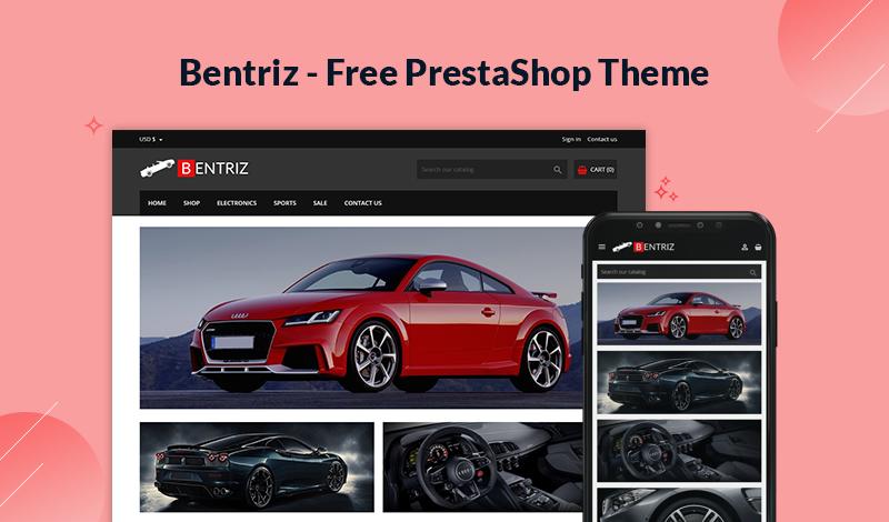 Bentriz - Free PrestaShop 1.7.7 Theme for Auto Parts Store