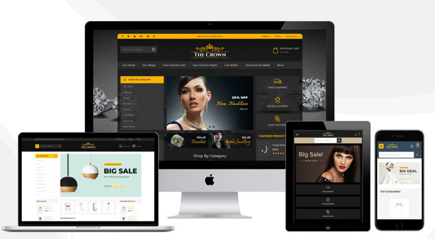 Crown - The Jewellery Store Template