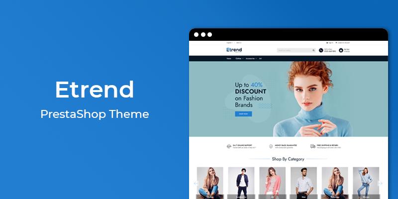 Etrend - Premium Multipurpose PrestaShop Theme