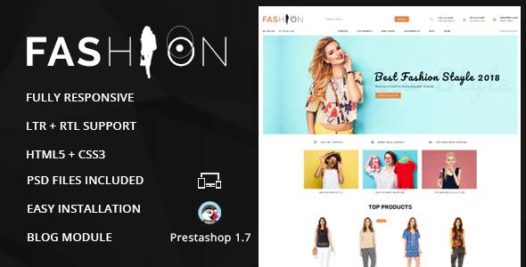 Fashion - Prestashop Responsive Theme