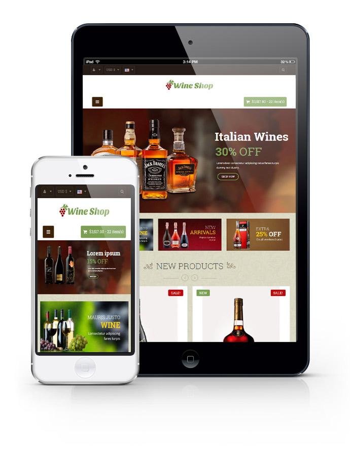 Leo Wine Store Prestashop