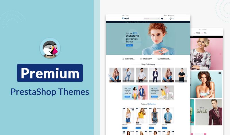 Top Premium PreStashop Themes 2021