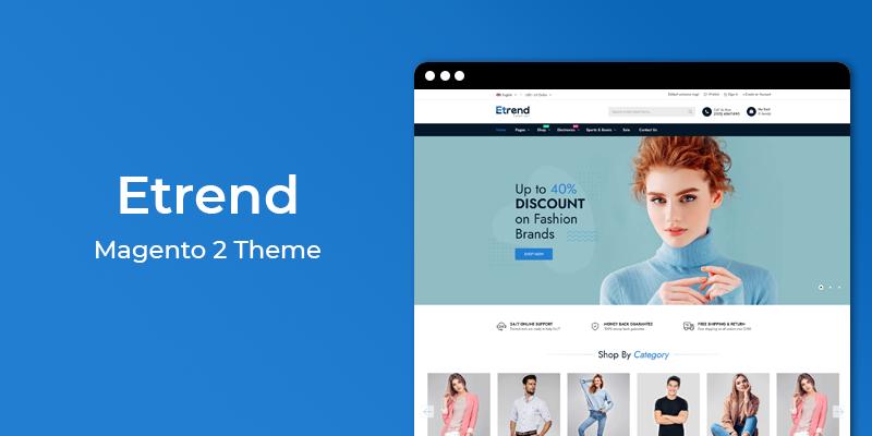 Etrend - Premium Multipurpose Magento 2 Theme