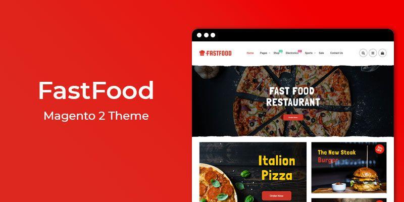 FastFood - Restaurant & Online Food Store Magento 2 Theme