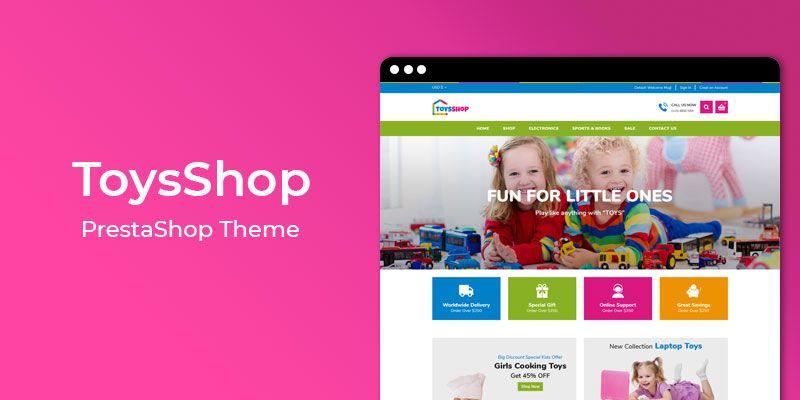ToysShop - Online Toys Store Responsive Prestashop Theme