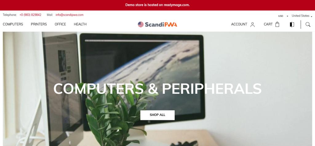 Magento 2 PWA theme by ScandiPWA