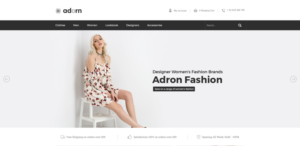 Addorn Fashion - Free Prestashop Theme