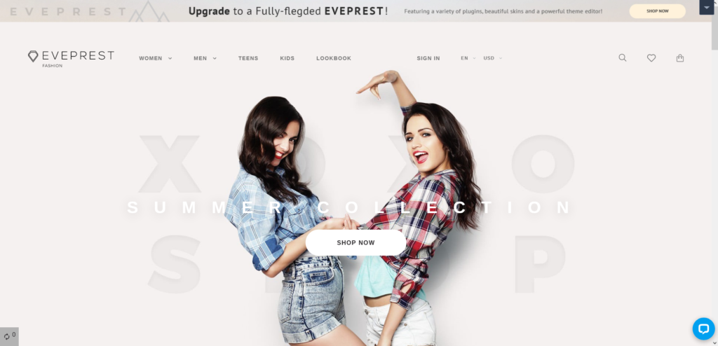 Eveprest – Free Clean Bootstrap Ecommerce PrestaShop Theme