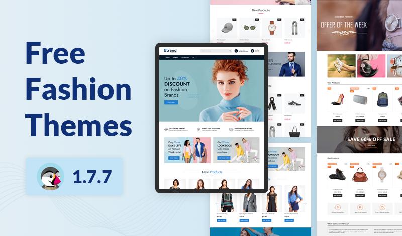 Top 7 Free Fashion Prestashop 1.7.7 Themes For 2021
