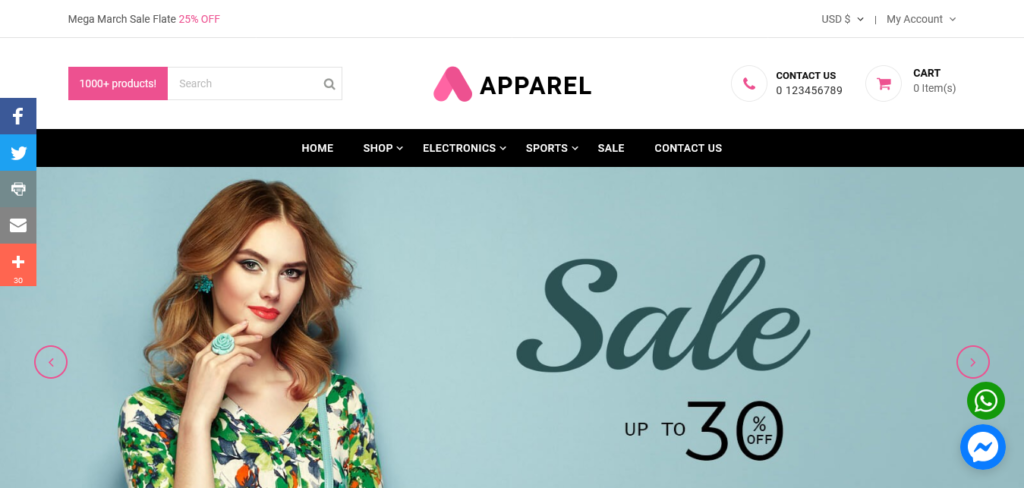 Apparel PRO – Multipurpose Responsive PrestaShop Theme