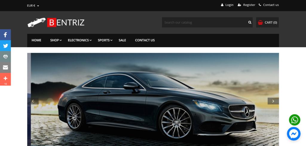 Bentriz Pro – Responsive Auto Parts Prestashop Theme