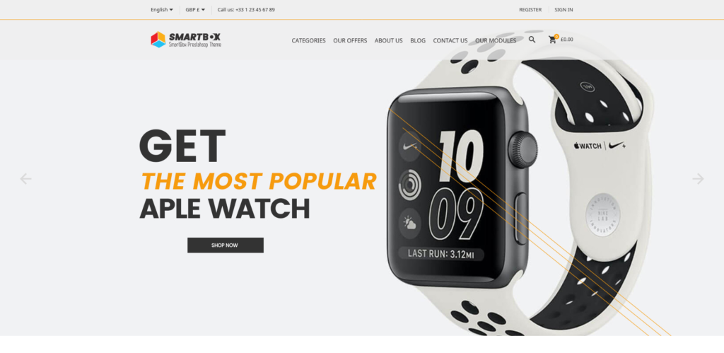 SmartBox – Free Electronics PrestaShop Themes