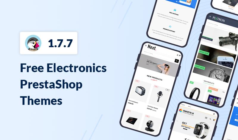 Top Free Electronics PrestaShop 1.7.7 Themes For 2021