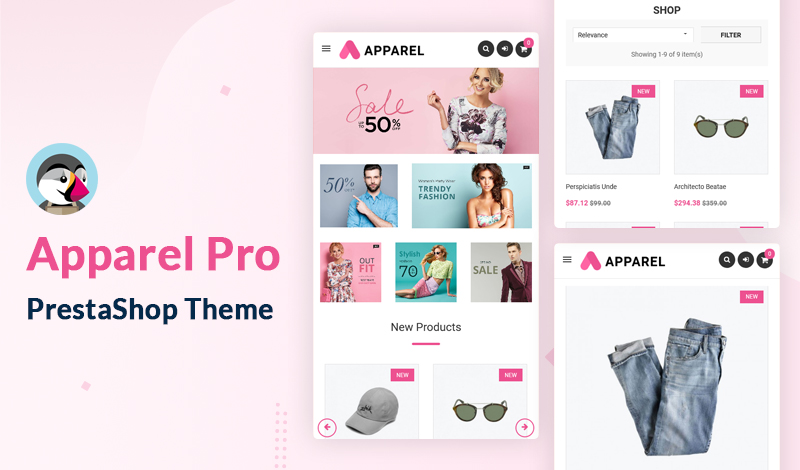 The Apparel PRO PrestaShop Theme For Your Online Store