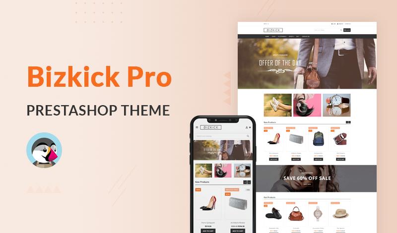 Best Responsive BizKick Pro PrestaShop Theme For Your Online Store