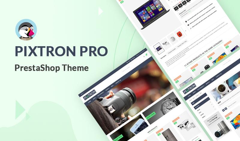 Pixtron Pro PrestaShop Theme 2021 For Ecommerce Stores