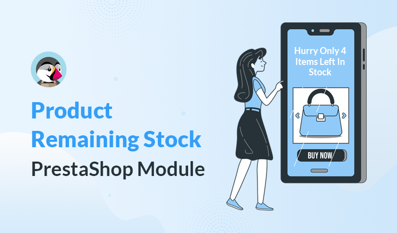 Best Product Remaining Stock PrestaShop Module For Your Online Store