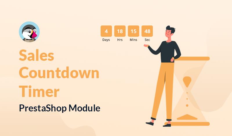 Top Sales Countdown Timer PrestaShop Module For Online Store