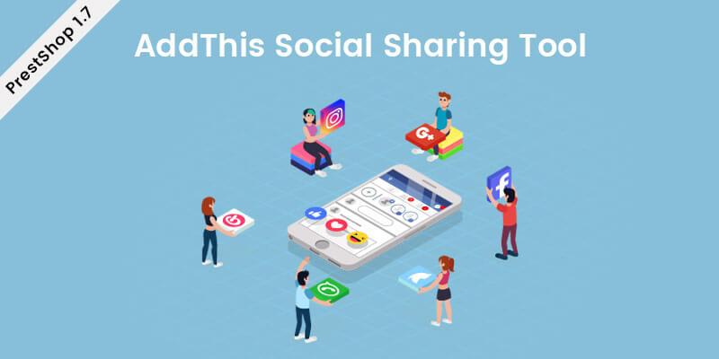 AddThis Social Sharing Tool Prestashop Module