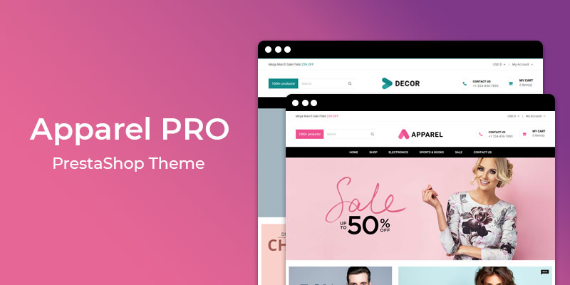 Apparel PRO – Multipurpose Responsive Prestashop Theme