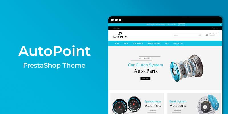 AutoPoint - Auto Parts Responsive Prestashop Theme