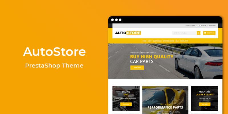 AutoStore- Premium Auto Store Responsive Prestashop Theme